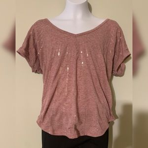 Like New Women's Sequence Crop Top